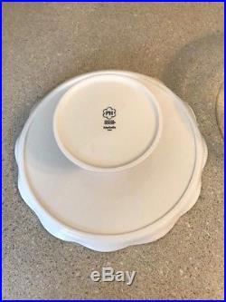 Princess House Marbella Cake Plate & Dome # 1726 Pedestal Stand & Glass Cover