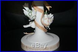 RARE Patience Brewster Department 56 Kringles Pedestal Cake Plate 2007