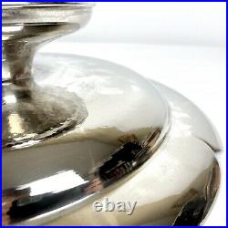 Rare Mitsukoshi Japanese Silver Plated Serving Pedestal Cake Stand with Fitted Box