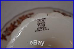 Rare Vintage 1940's Copeland Spode India Tree Pedestal Tort/Cake Plate