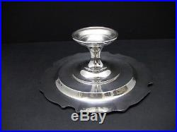 Reed Barton King Francis 1688 Silver Plate Pedestal Cake Stand