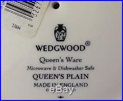 Retired Wedgwood Queen's Plain Pedestal Cake/Plate Stand, Martha Stewart by Mail