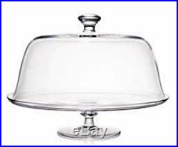 Rogaska Crystal Cake Plate Pedestal Covered New In The Box 35cm SEALED