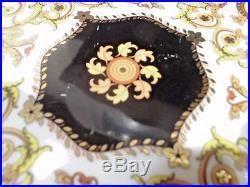 Rosenthal Versace Barocco Pedestal Cake Plate-VGC! No chips/cracks/crazing. LOOK