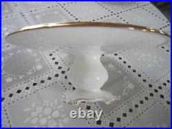 Royal Albert American Beauty Pedestal Cake Plate EXTREMELY RARE