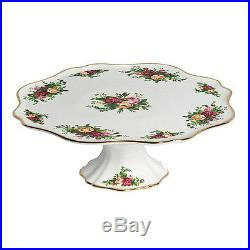 Royal Albert OLD COUNTRY ROSES Pedestal / Footed Cake Plate Stand NEW / BOX