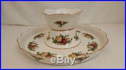 Royal Albert Old Country Roses Pedestal Footed Cake Plate