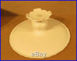 Royal Albert Old English Rose Pedestal Cake Plate or Stand Made in England