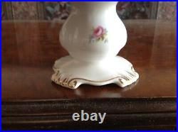 Royal Albert Tranquility Footed Pedestal Cake Stand Plate / Platter