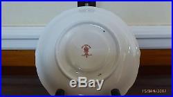 Royal Crown Derby- Old Imari 9021 Pedestal Cup, Saucer & Cake Plate-1929