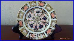 Royal Crown Derby old Imari 9021/1128 Pedestal Cups Saucers & Cake Plates x 2