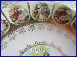 Royal Vienna Beehive Fragonard Pink Pedestal Cake Plate 55/531 Compote Marked