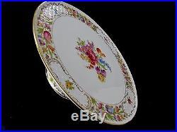Schumann Empress Arzberg Dresden Large Cake Pedestal Plate