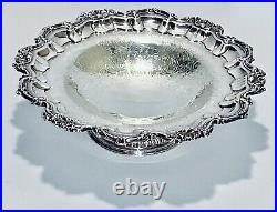 Stunning Antique Barker Ellis English Silver Plated Pedestal Cake/ Candy Tray