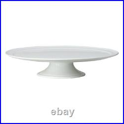 TAG Whiteware Pedestal Cake Plate (G12895)