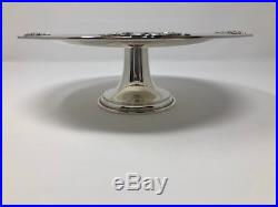 Tiffany 22803 Sterling Silver Tazza / Pedestal Cake Stand Plate 8 5/8