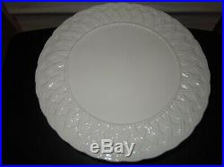 Tiffany & Company Porcelain Pedestal Cake Plate 13.5 Made in Italy