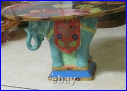 Tracy Porter Elephant Footed Pedestal Cake Plate Stand