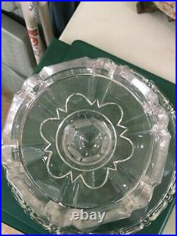 U S Glass Glass Company 1892 Pedestal Cake Stand