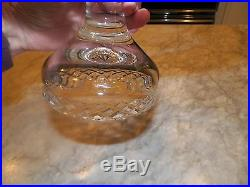 VINTAGE Waterford Crystal COMERAGH/ALANA Pedestal Footed Cake Plate Stand 10