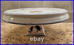 Villeroy & Boch COTTAGE INN Pedestal Cake Stand, Plate 10 round Berries EUC