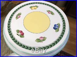 Villeroy Boch French Garden Fleurence Pedestal Cake Stand Plate 13