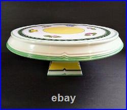 Villeroy & Boch French Garden Fleurence Pedestal Cake Stand Plate 13 Serving