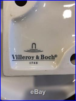 Villeroy Boch French Garden Fleurence Pedestal Cake Stand Plate 9