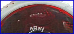 Vintage Avon 1876 Cape Cod Ruby Red Round 11 Glass Pedestal Cake Plate Stand