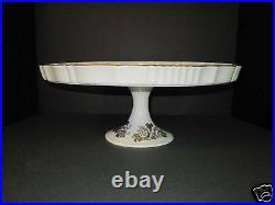 Vintage Cake Plate Porcelain France