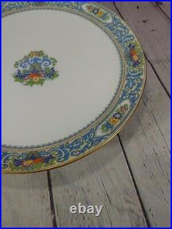 Vintage Lenox The Autumn Design 10 1/2 Pedestal Cake Plate