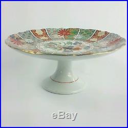 Vintage Nippon Porcelain Pedestal Cake Plate