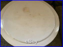Vintage Strawberry Shortcake Pedestal Covered Cake Plate Dome Dish