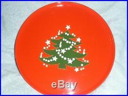 Waechtersbach CHRISTMAS TREE Cake Plate Stand Plate on Pedestal 12 Diameter EC