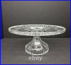 Waterford Crystal 11 Inch Lismore Pedestal Cake Plate