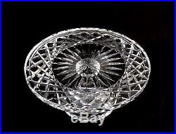 Waterford Crystal Large 10 Footed Pedestal Cake Pie Plate