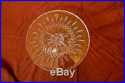 Waterford Crystal Lismore 11 Footed Cake Plate Pedestal Stand New In Box