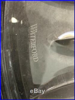 Waterford Crystal Lismore 11 Footed Pedestal Cake Plate Stand 5 Lbs