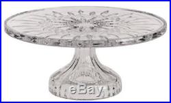 Waterford Crystal Lismore Footed Pedestal Cake Plate Stand Brand New
