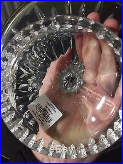 Waterford Crystal Lismore Footed Pedestal Cake Plate Stand NEW IN BOX