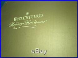 Waterford Holiday Heirloom Garlands X'mas Pedestal Cake Plates- Bowl -pick One