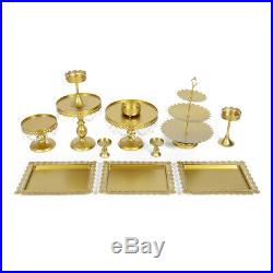 Wedding Cake Stand Classical Round Birthday Party Display Pedestal Plate Tower