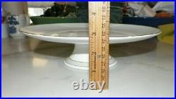 Wedgwood Vera Wang Illusion Bone China Pedestal Cake Plate