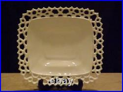 Westmoreland Milk Glass Doric Pedestal Cake Plate
