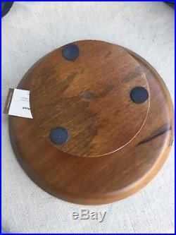 William Sonoma Wood Cake Plate Pedestal Stand Dish