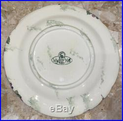 Wydnor Hall Bramble Compote Pedestal Bowl Sauce Nut Candy with Plate Cake